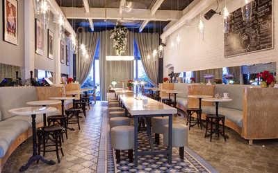 Банкетный зал кафе Canteen (Кантин) на Рочдельской улице фото 1