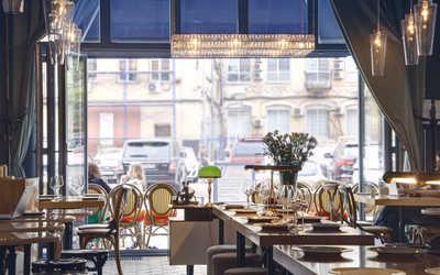 Банкетный зал кафе Canteen (Кантин) на Рочдельской улице фото 2