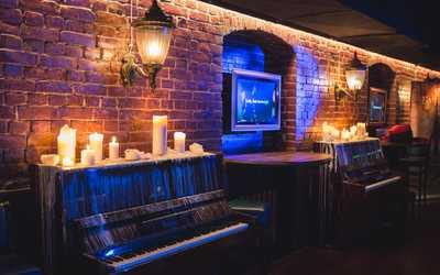 Банкетный зал караоке клуба, ресторана Аллюр на Беговой улице фото 1