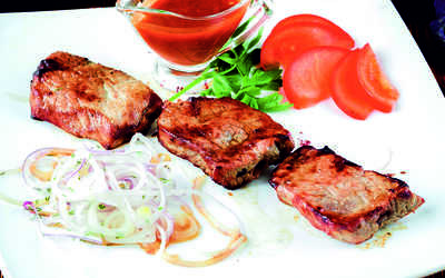 Меню ресторана Старый Баку на улице Гатчинской фото 2