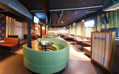 Банкетный зал бара, караоке клуб, кафе Sound Hall на улице Коминтерна