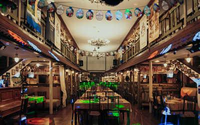 Банкетный зал пивного ресторана Cernovar (Черновар) на Профсоюзной улице