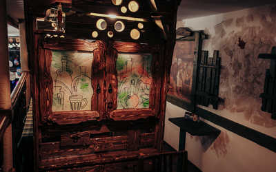 Банкетный зал пивного ресторана Черновар (Cernovar) на Профсоюзной улице фото 3