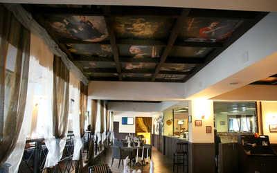 Банкетный зал кафе, ресторана TRATTORIA на Симферопольском бульваре