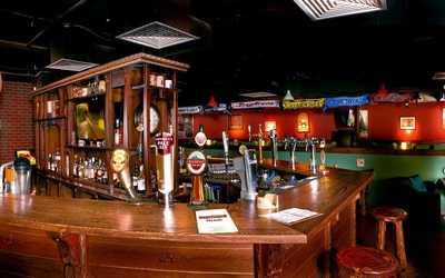 Банкетный зал паба, пивного ресторана, ресторана Beermingham на Выборгском шоссе