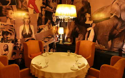 Банкетный зал бара, ресторана Чайка (Chaika) на Марксистской улице