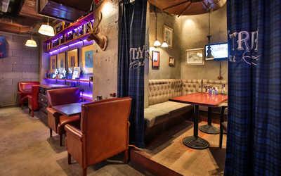 Банкетный зал бара Stay True Bar на Славянской площади