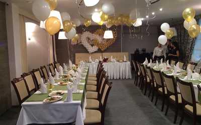 Банкетный зал кафе, ресторана Македония (бывш. Золотой скорпион) на улице Бажовой фото 3
