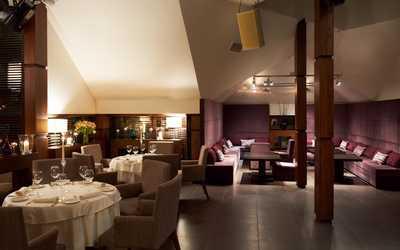 Банкетный зал бара, ночного клуба, ресторана Андиамо (Andiamo) на улице Остоженка фото 1