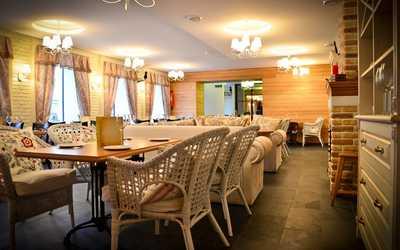 Банкетный зал кафе, ресторана Carbonara bar на улице Марата