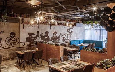 Банкеты ресторана У Ханумы на улице Зои Космодемьянской фото 2