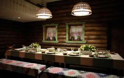 Банкетный зал ресторана Вечера на хуторе на улице Декабристов фото 2