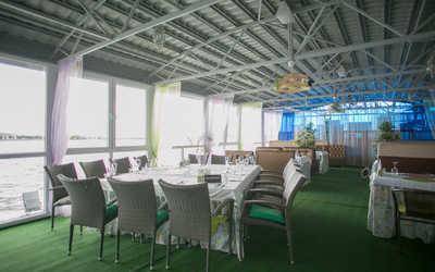 Банкетный зал ресторана Круиз на улице Кировской дамба фото 3