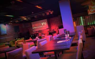 Банкетный зал кафе Агарта (Ресторан живой музыки Агарта) на проспекте Карла Маркса фото 2