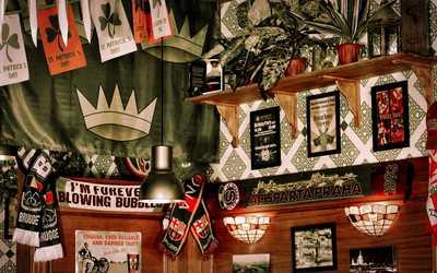 Банкетный зал пивного ресторана Dark Patrick's Pub в Большом Златоустинском переулке фото 2