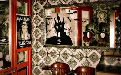 Банкетный зал паба Dark Patrick's (Дарк патрик) в Большом Златоустинском переулке фото 3