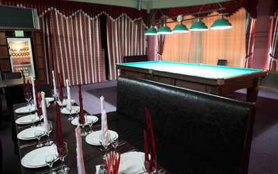 Банкетный зал бара, ресторана Империал на улице Минской