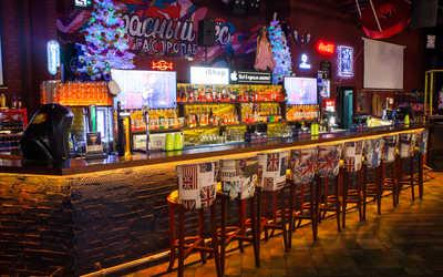 Банкетный зал бара, ночного клуба, паба Красный пёс на улице Володи Головатого фото 2