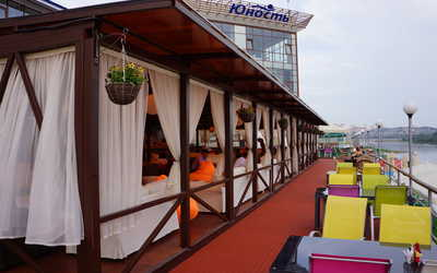 Банкетный зал ресторана Юность на набережной улице фото 3