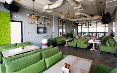 Банкетный зал ресторана Газон на улице Ткачей фото 2