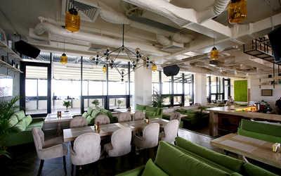Банкетный зал ресторана Газон на улице Ткачей фото 3