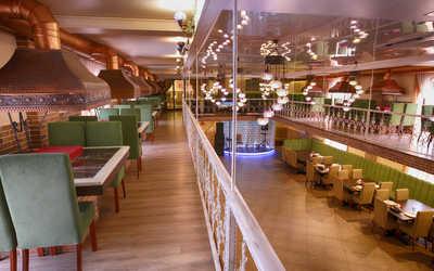 Банкетный зал ресторана Мангал Хаус На ул. Антоновой-Овсеенко фото 3