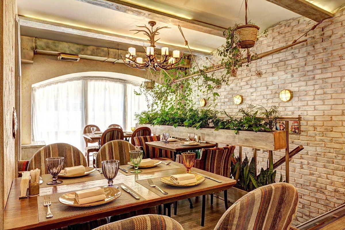 Кафе Натахтари в Большом Черкасском переулке фото 14