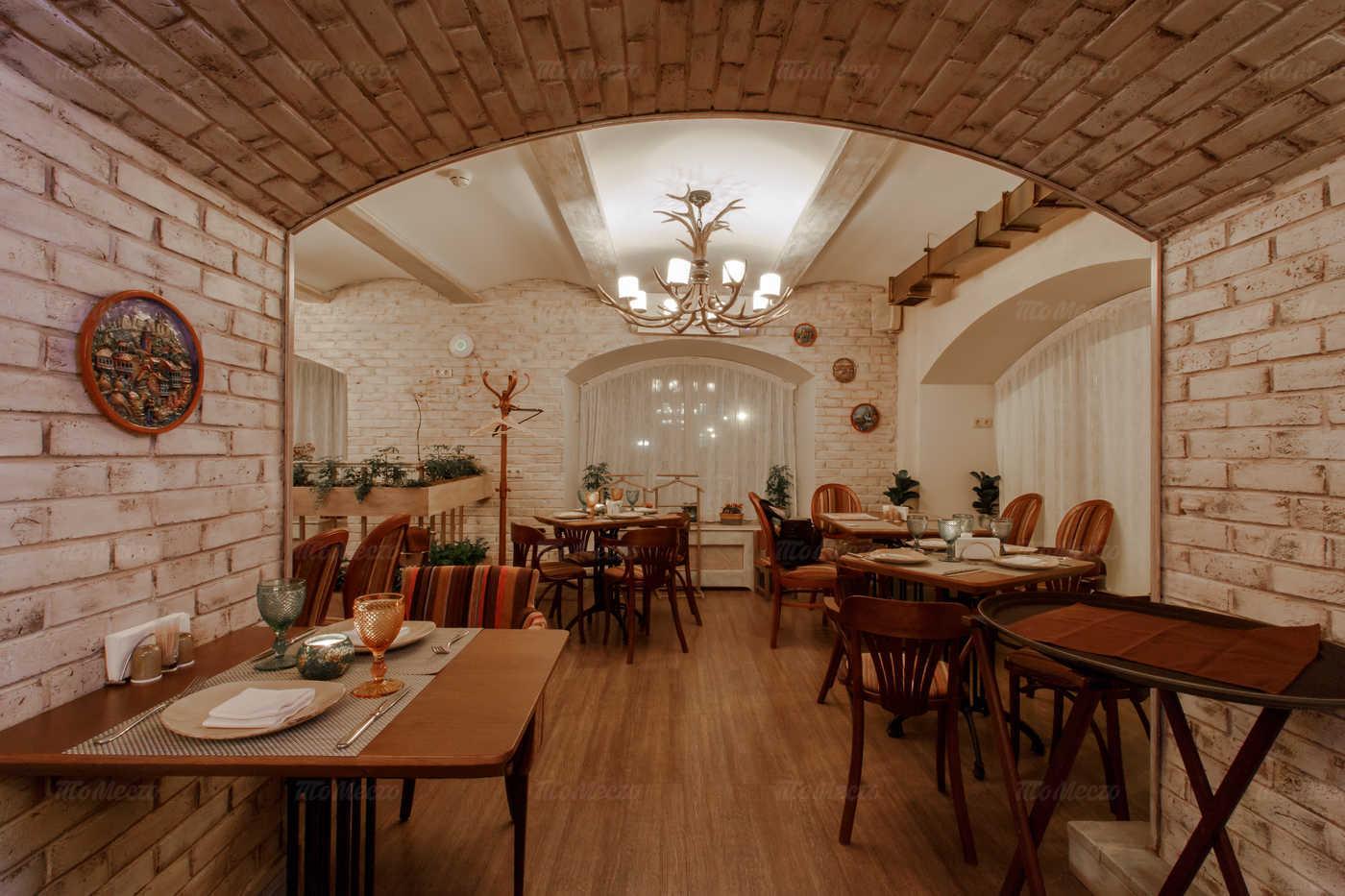 Меню кафе Натахтари (бывш. кафе Де Ролан) в Большом Черкасском переулке