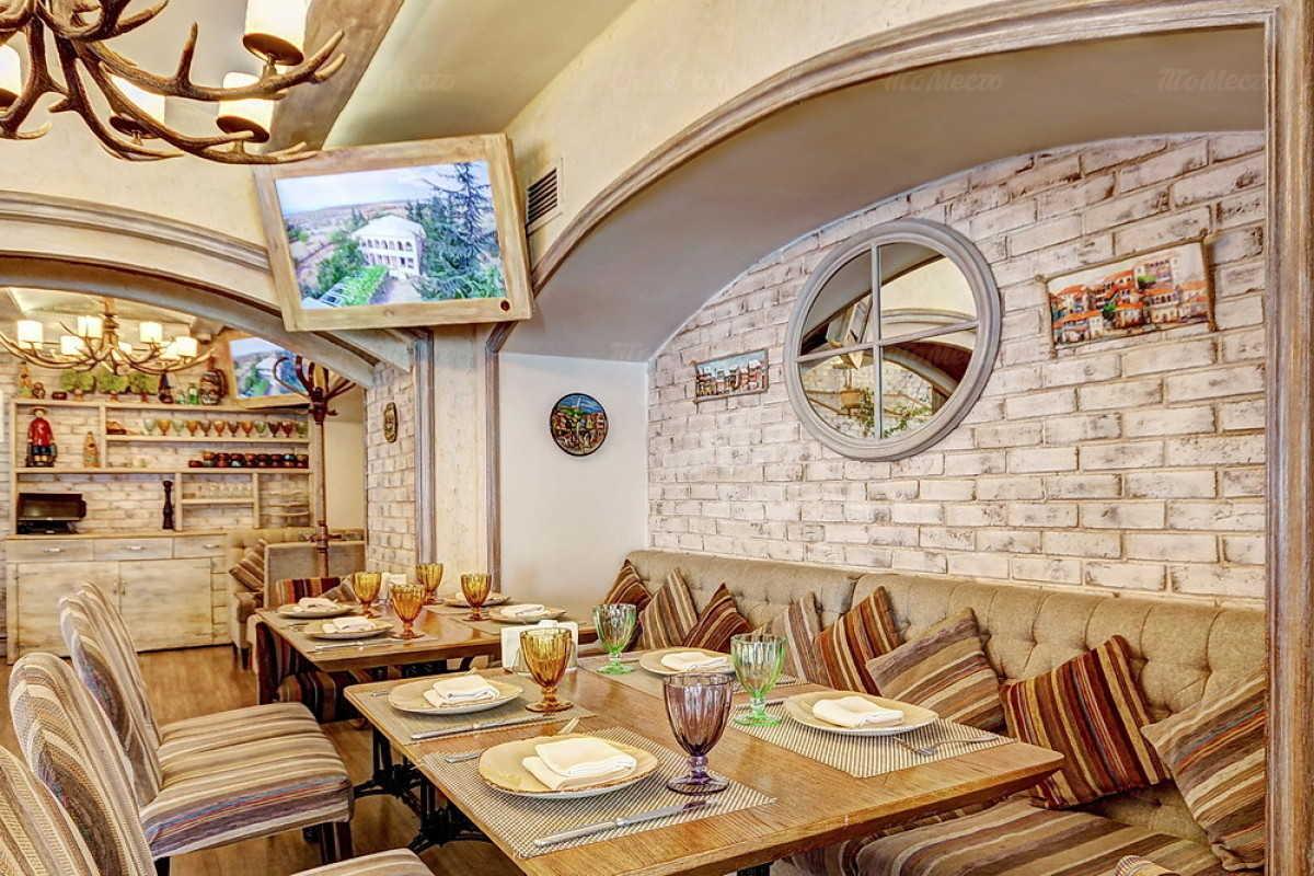 Кафе Натахтари в Большом Черкасском переулке фото 18