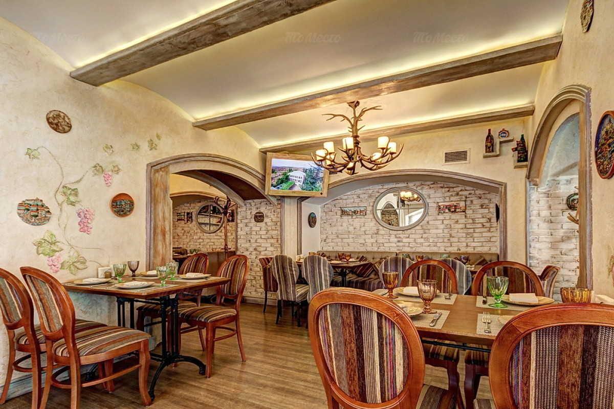 Кафе Натахтари в Большом Черкасском переулке фото 7