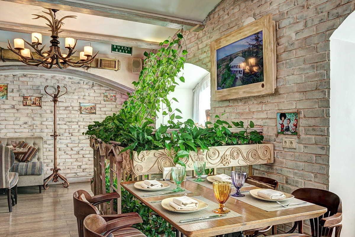 Кафе Натахтари в Большом Черкасском переулке фото 20