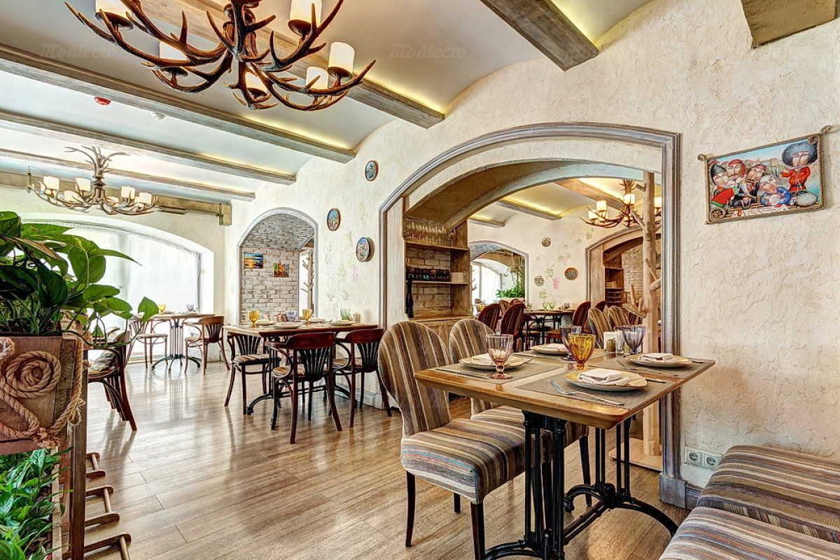Кафе Натахтари в Большом Черкасском переулке фото 13