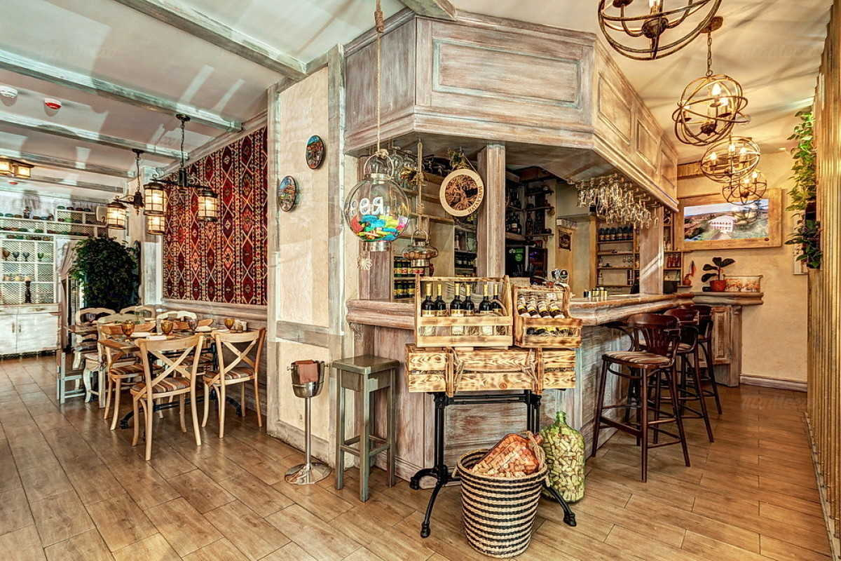 Кафе Натахтари в Большом Черкасском переулке фото 25