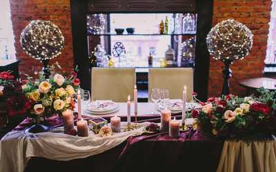 Банкетный зал бара, ресторана Октябрь Event Hall (бывш. Apartment) на Берсеневской Набережной