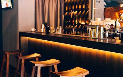 Банкетный зал бара Бурбон (Bourbon) на улице Жуковского фото 3
