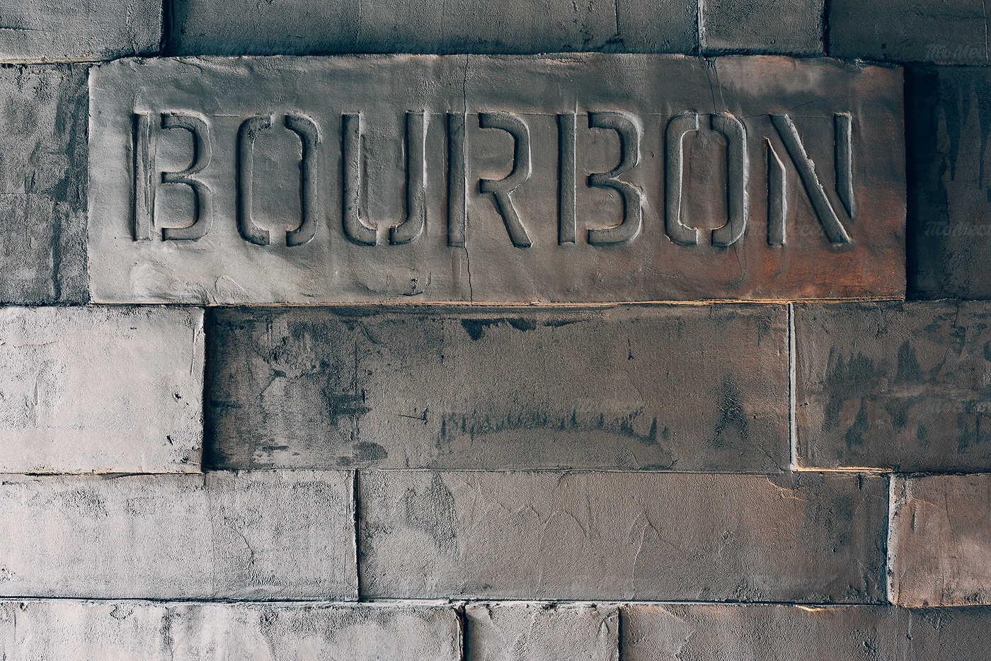 Меню бара BOURBON на улице Жуковского