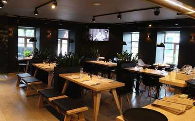 Банкетный зал кафе, ресторана Брют на Выборгской набережной