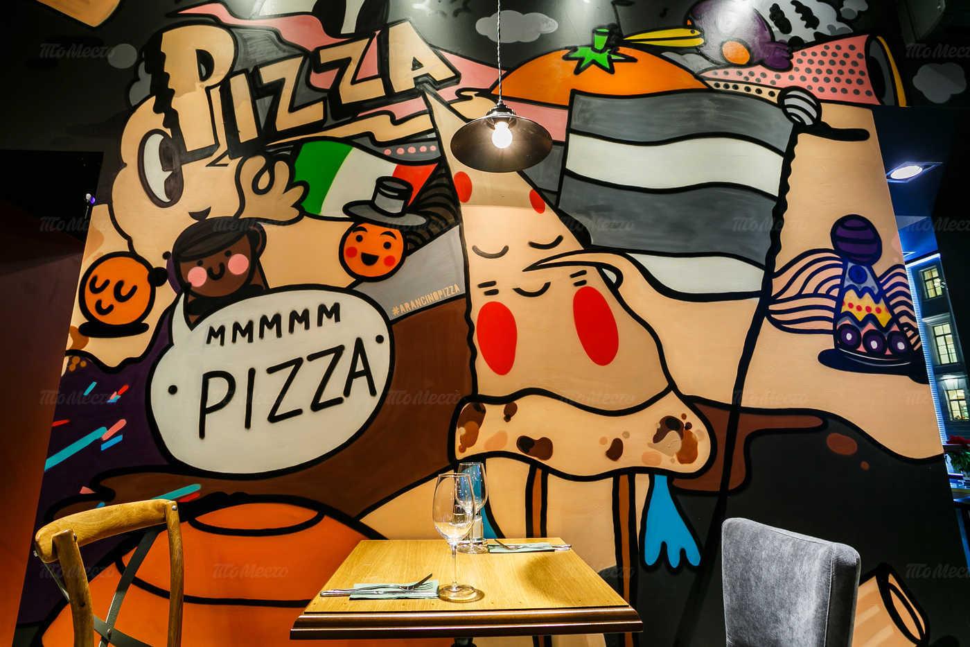 Меню ресторана Arancino Pizza на проспекте Чернышевского