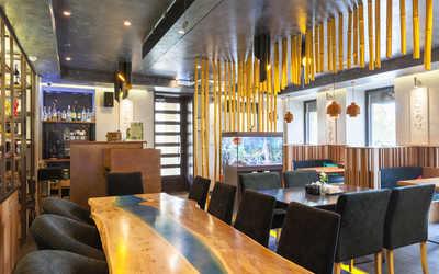 Банкетный зал кафе И Рис на Ропшинской улице фото 2
