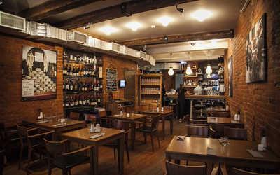 Банкетный зал ресторана Brix (Винный бар Brix) в Малом Козихинском переулке