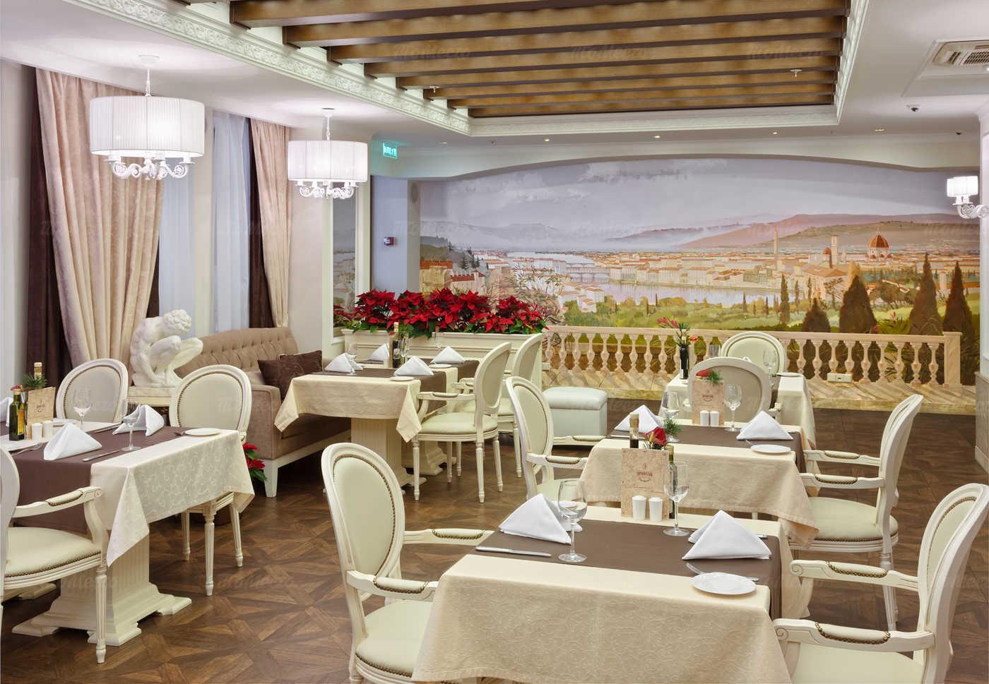 Меню ресторана Michelangelo на улице Правды