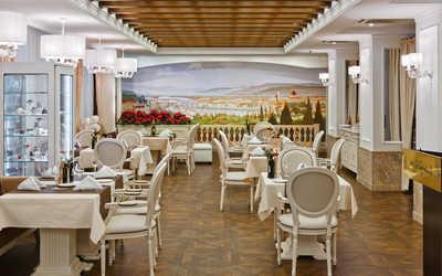Банкетный зал ресторана Michelangelo на улице Правды
