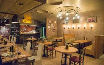 Банкетный зал кафе, ресторана Osteria Mario (Остерия Марио) на Трубной площади