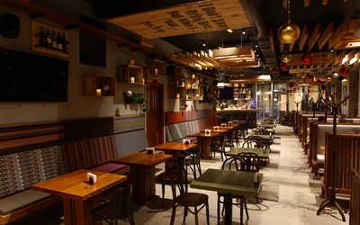 Банкетный зал ресторана Bigrib (БигРиб) на Садовнической набережной фото 2