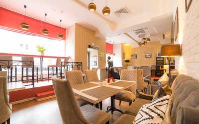 Банкетный зал кафе Boobo Georgian Food (бывш. Big Bite) на Лесной улице фото 1