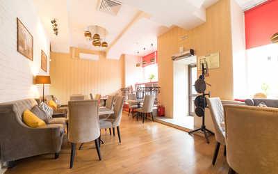 Банкетный зал кафе Boobo Georgian Food (бывш. Big Bite) на Лесной улице фото 2