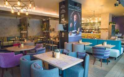 Банкетный зал ресторана Osteria Mario (Остерия Марио) на Балтийской улице