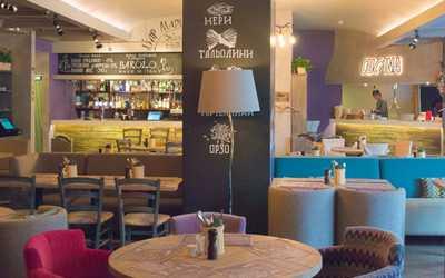 Банкетный зал ресторана Osteria Mario (Остерия Марио на Соколе) на Балтийской улице