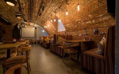 Банкетный зал кафе Boobo Georgian Food (бывш. Big Bite) на Большой Никитской улице фото 3