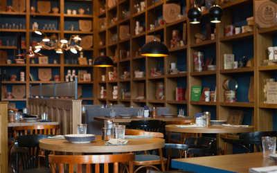 Банкетный зал ресторана Zotman pizza pie (Зотман Пицца Пай) В ИКЕА